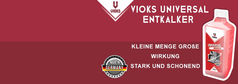 Banner VIOKS Entkalker