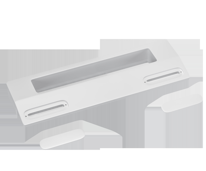 Türgriff Universal weiß für 90-172mm Schraubenabstand an Kühlschrank
